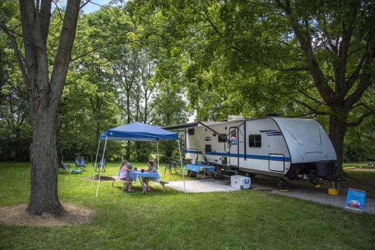 Campground Details - KENTUCKY HORSE PARK, KY - ReserveAmerica